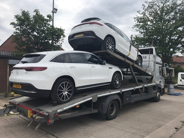 Fallowfield Vehicle Deliveries Electric Merc